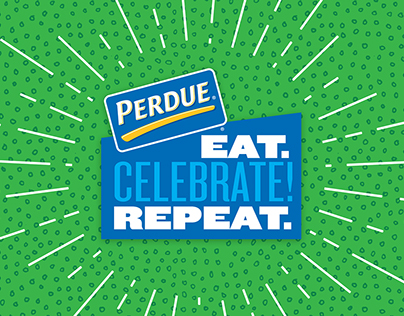 Perdue Eat, Celebrate, Repeat! Campaign