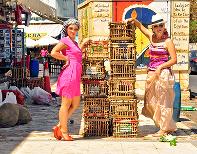 Photo report of Egyptian market visit