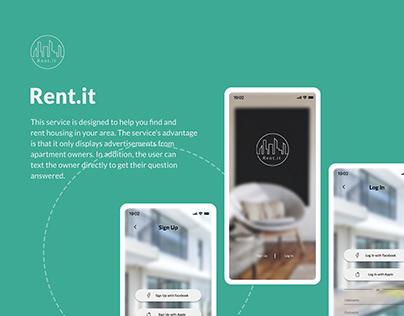 Rent.it - House Rental App