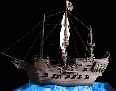 Typo Pearl   Pirate Ship