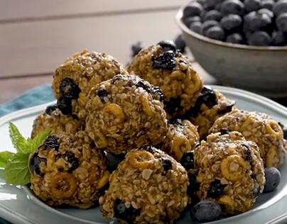 Fresh Solutions Blueberry Energy Balls Video