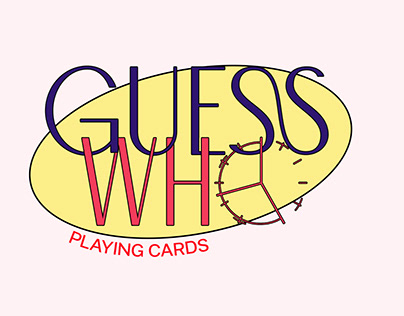 """""""GUESS WHO"""" Playing Cards"""