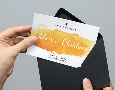 Marc & Char Save-the-Date Card