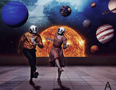 love at space