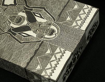 Ceramic picture (box)