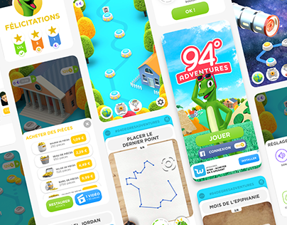 94° Adventures | Mobile Game