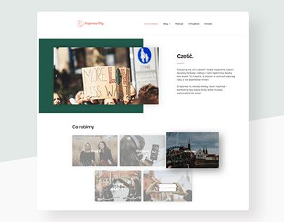 Less Waste Living Website
