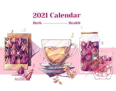 Herb & Health - 2021 Calendar