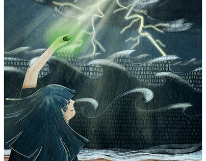 Illustration for Firewords Magazine issue 13
