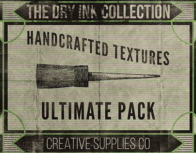 Dry Ink - 100 Textures Pack