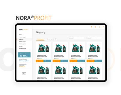 NORA®PROFIT - loyalty program