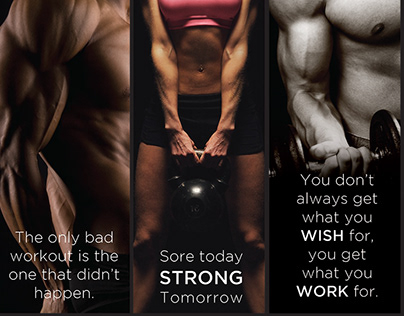 Motivational Banners | CET Fitness Centers
