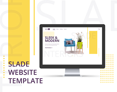 Slade WebSite Template Vol.1