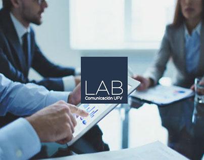 Diseño identidad Proyecto LAB comunicación UFV