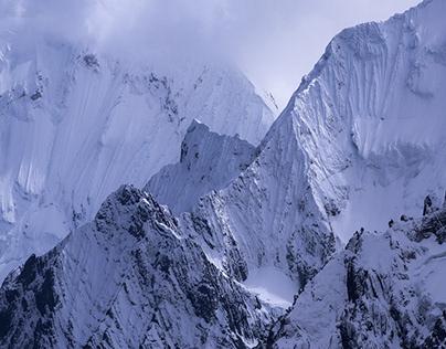 Some summits of Peru