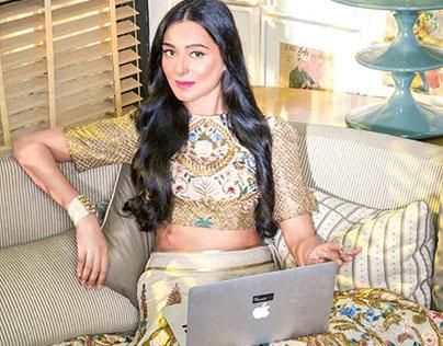 Pernia Qureshi-Harper's Bazaar Bride, India - Anniv '15