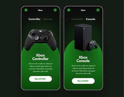 Xbox App concept