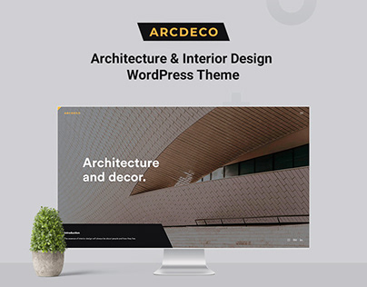 Architecture & Interior WordPress Theme – Arcdeco