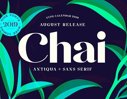 Chai Typeface