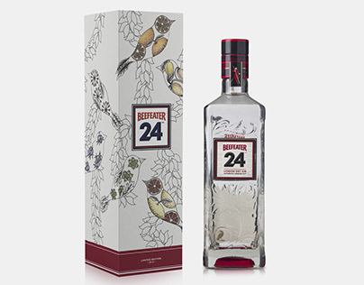 Beefeater 24 Gin Packaging