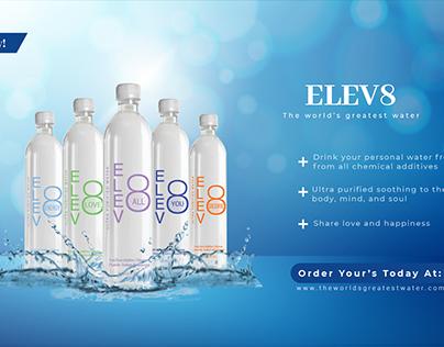 Elev8 Water Ad