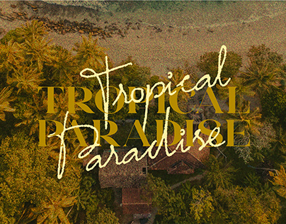 Tropical Paradise - Font Duo