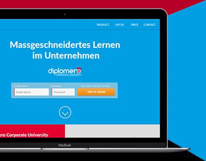 Diplomero Corporate University Website