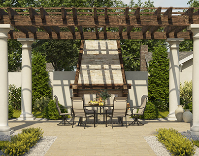 Backyard design in the State of Connecticut