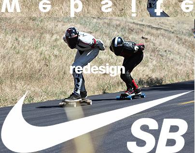 Nike SB Website Redesign Concept