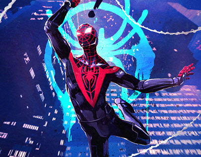 Marvel's Spider-Man: Miles Morales // Fan Art