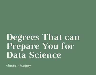 Alastair Majury | Surprising Degrees for Data Science