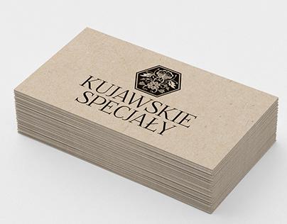 Logotype and product label for Kujawskie Specjały