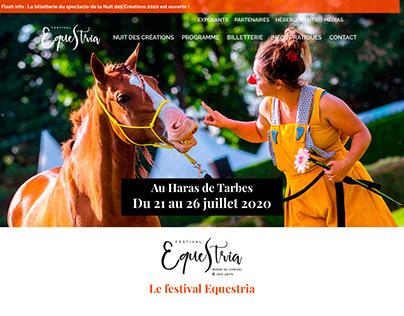 Equestria Festival - WebDesign