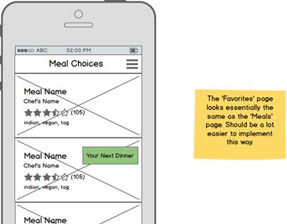 iOS app mockup (via Toptal)