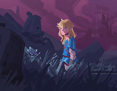 Link in Hyrule castle