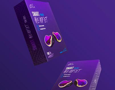 Bi'Cu Headphones Packaging