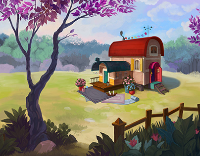 Enviromental art - Gypsy House