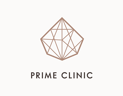 Logo & website project, Prime Clinic (Warsaw, Poland)