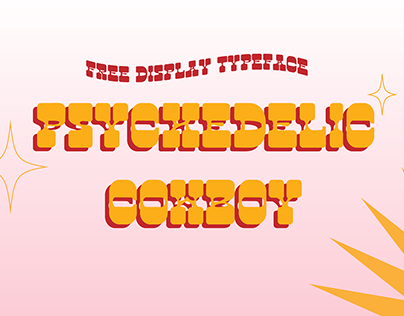 Psychedelic Cowboy - Free Display Font