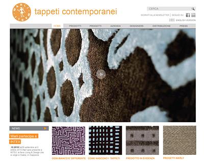 Warli website | design & wp development | 2010