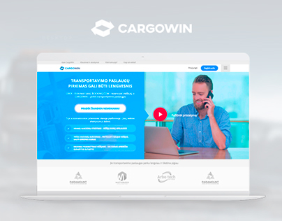 CargoWin. B2B/ B2C auction web platform.