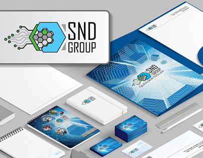 Создание логотипа для компани SNDGroup