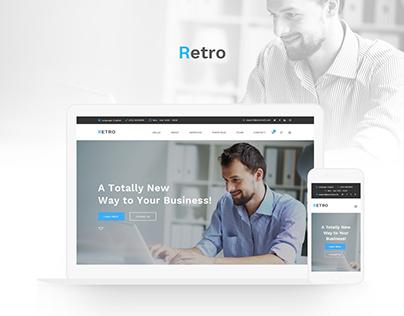 Retro - Business Theme