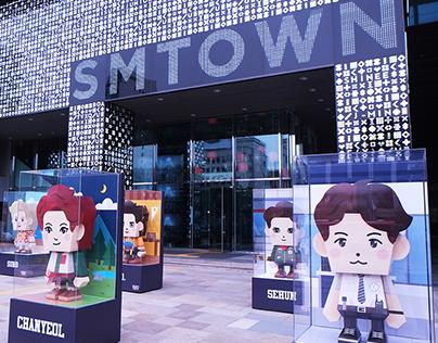 EXO PAPER TOY - S.M. Entertainment (4BD STUDIO)