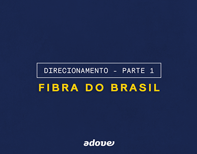 Identidade Visual I Fibra do Brasil