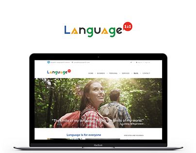 Language121 - visual update for WP theme + logo