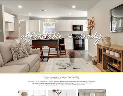 My Cottage Homes Website