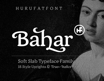 Bahar Soft Slab Typeface