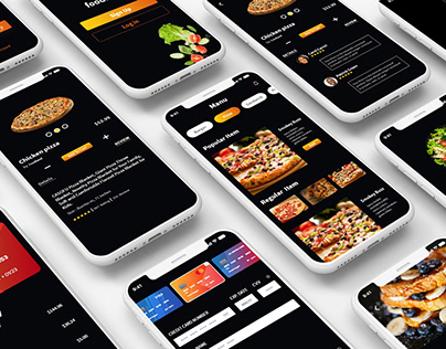 Restaurant App designs