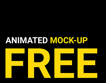 FREE animated mockup | part 1